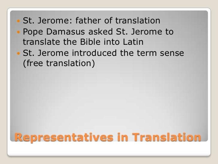 Free Translation Into Latin