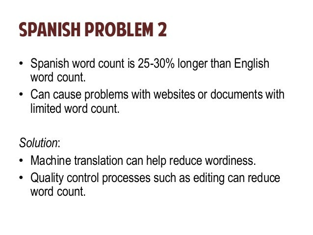 how to say what is the problem in spanish