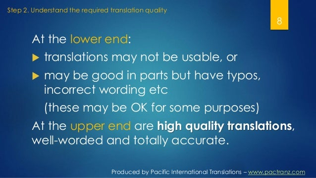 Your translation purpose: gateway to your ideal translation