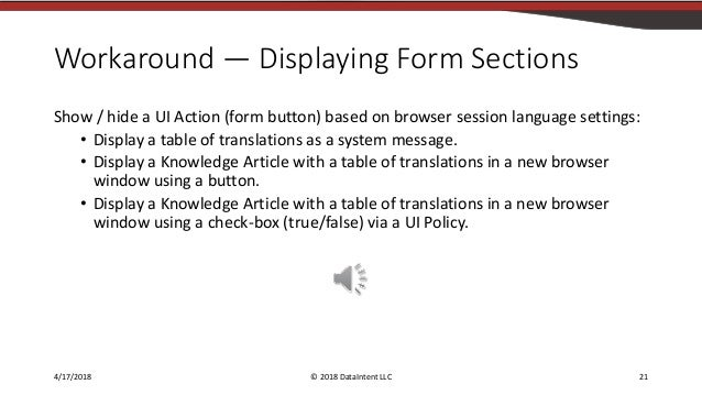 Language Translations for Custom Scoped Applications in ServiceNow