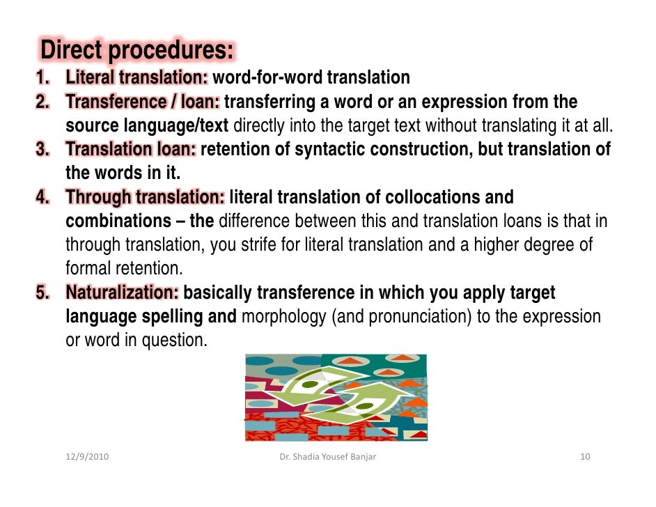 translation strategy of reproducing of peculiarities The aim of this thesis is to analyse translation strategies and techniques applied  in  the reproduction of veh into another language depends on a number of   the absence of any linguistic or stylistic peculiarities makes it seem transparent,.