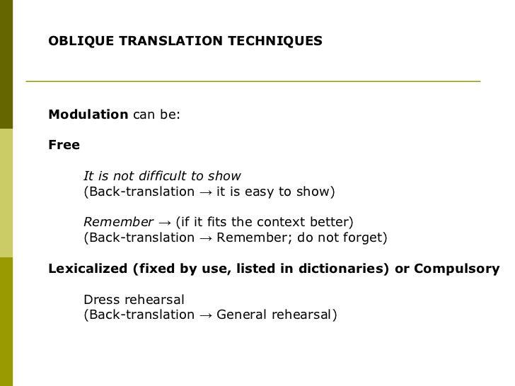 back translation examples