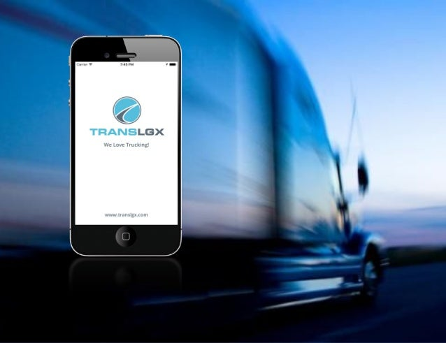 TransLGX streamlines the ordering and tracking of commercial freight.