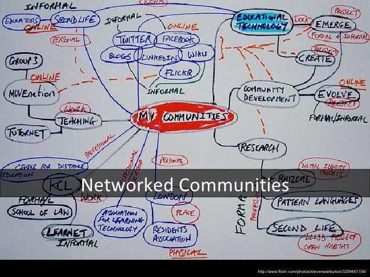 Networked Communities http://www.flickr.com/photos/stevenwarburton/3209461104/