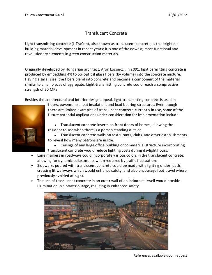 Fellow Constructor S.a.r.l                                                            10/01/2012                          ...