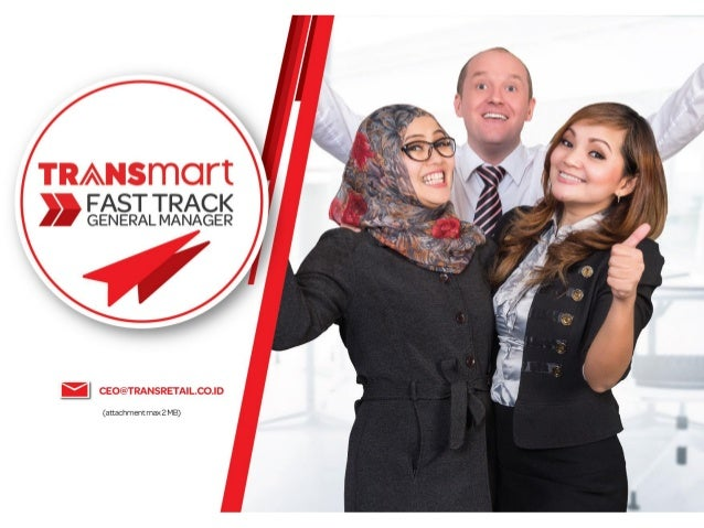 Transmart Fast Track General Manager - Grow Fast with Us!
