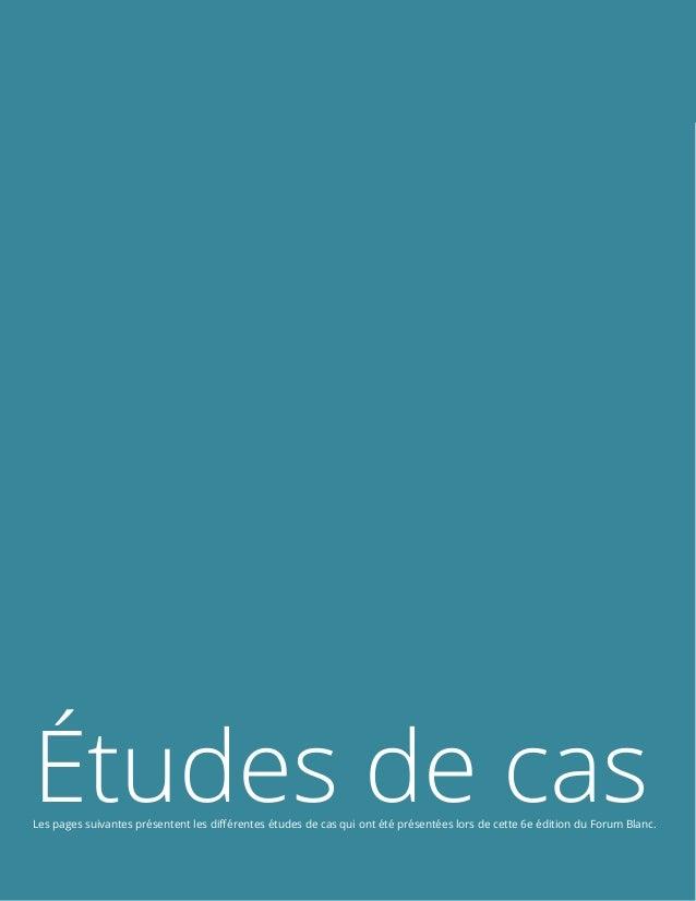 Le transmédia en 2014 Page 16 de 24 Études de casLes pages suivantes présentent les différentes études de cas qui ont été ...