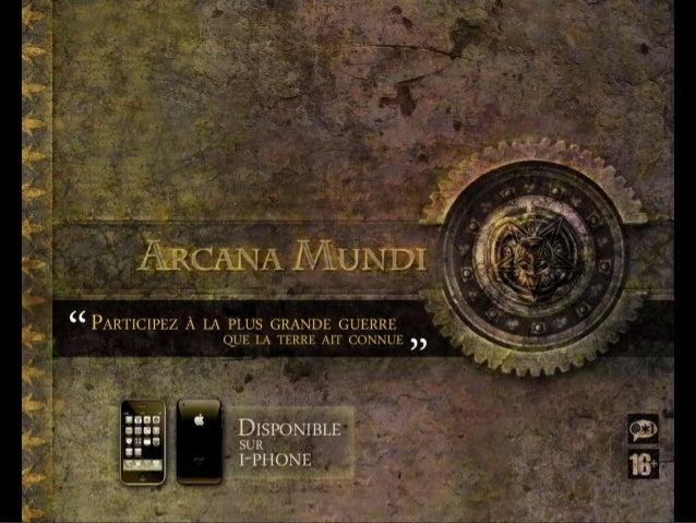 Sommaire 1 - Le principe 2 - La trame narrative 3 - Les phases de jeu - 3.1 Les phases de jeu - L'enquête - 3.2 Les phases...