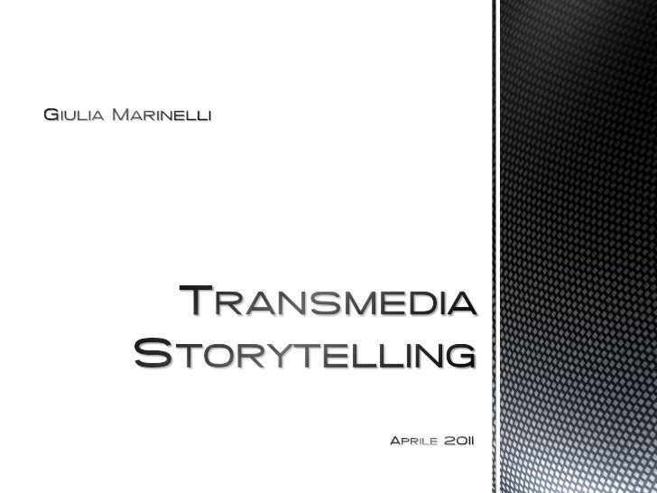 In the world of media   convergence, every  important story gets told, every brand gets     sold, and everyconsumer gets c...