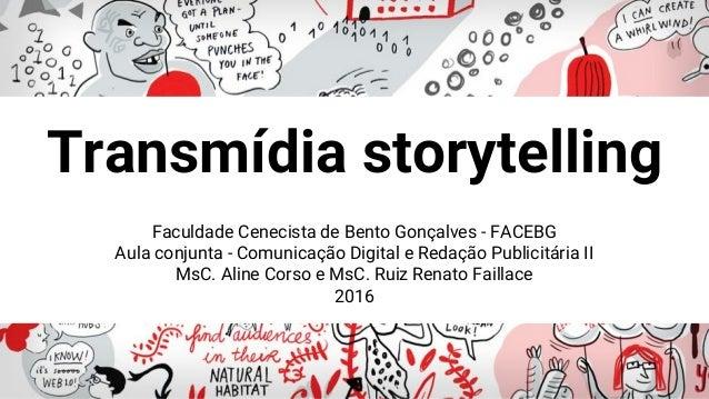 Faculdade Cenecista de Bento Gonçalves - FACEBG Aula conjunta - Comunicação Digital e Redação Publicitária II MsC. Aline C...