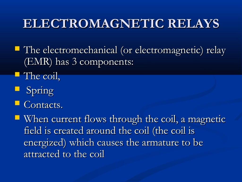 Transmission Line Fault Detector Robot Electromagnetic Relay Armature