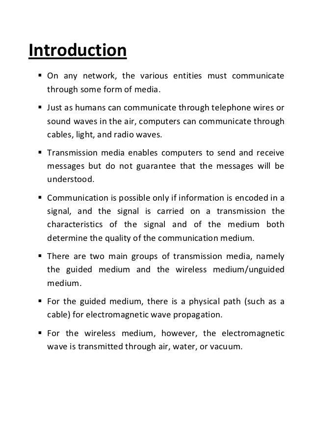 Transmission media Slide 3