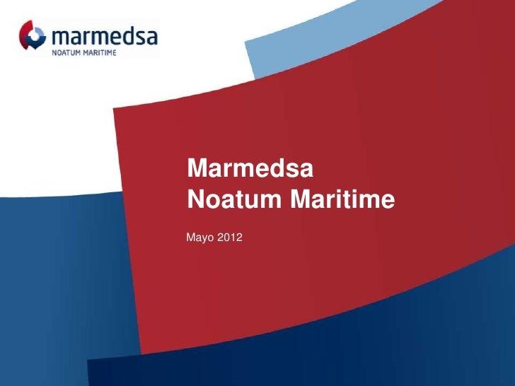 MarmedsaNoatum MaritimeMayo 2012