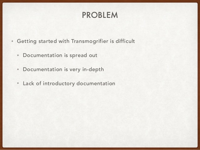 Introduction to Transmogrifier Slide 2