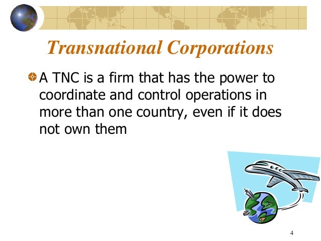 Transnational Corporation
