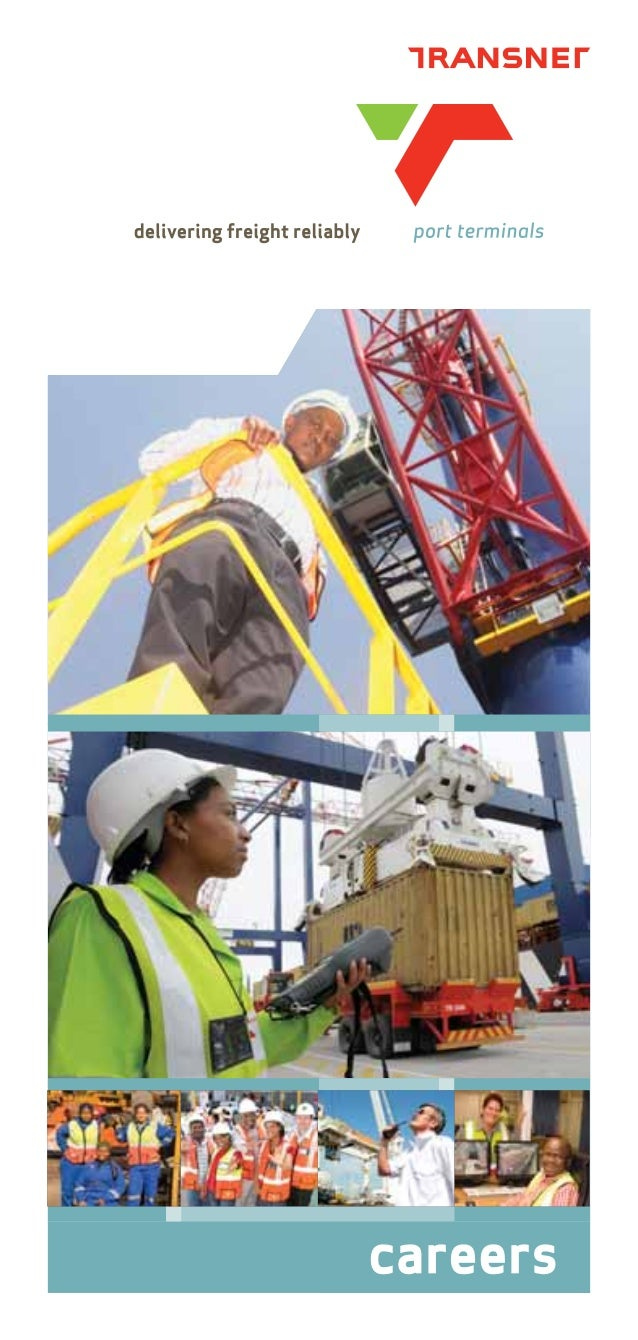Transnet port terminals careers brochure