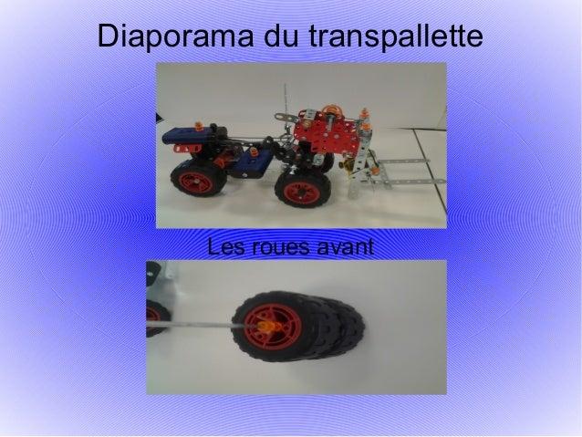 Diaporama du transpallette Les roues avant