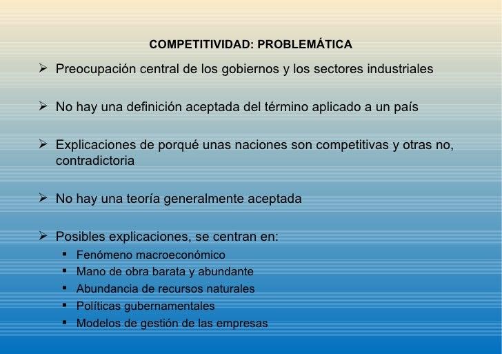 Competitividad Slide 2