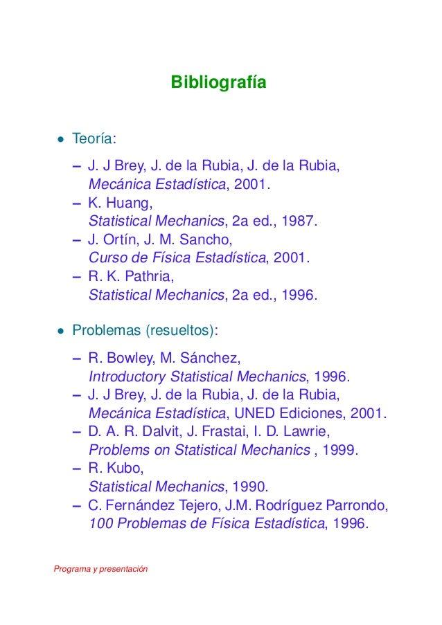 Introductory statistical mechanics bowley sanchez