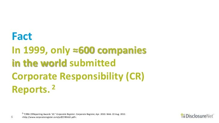 corporate social responsibility environmental disclosures philosophy essay We review research on corporate social responsibility corporate social responsibility research in sustainability, environmental, disclosure.
