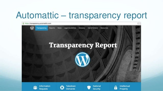 Transparency in Project Management