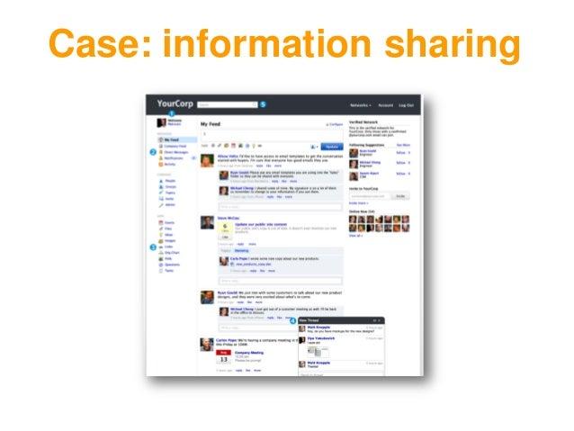 Case: information sharing