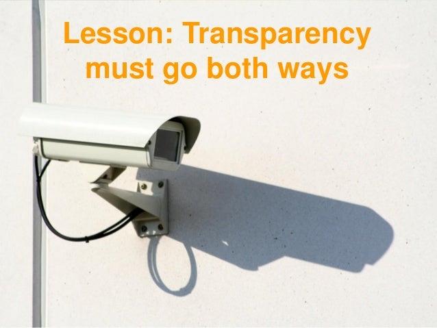Lesson: Governance failure