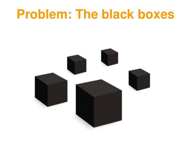 Problem: The black boxes