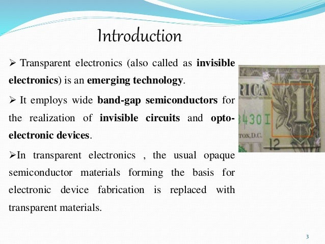 Transparent Electronics PPT (For download https://www.youtube.com/wa…