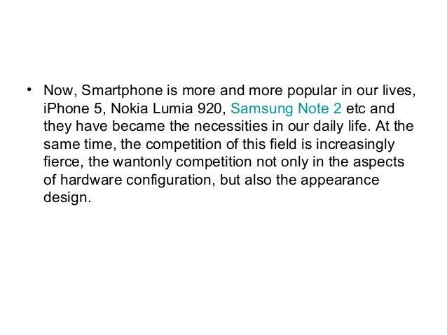 Transparent smart phone Slide 2
