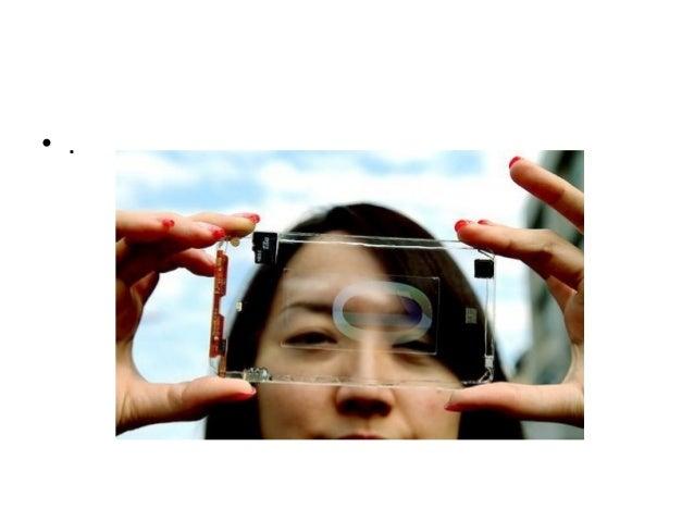 Transparent smart phone Slide 3