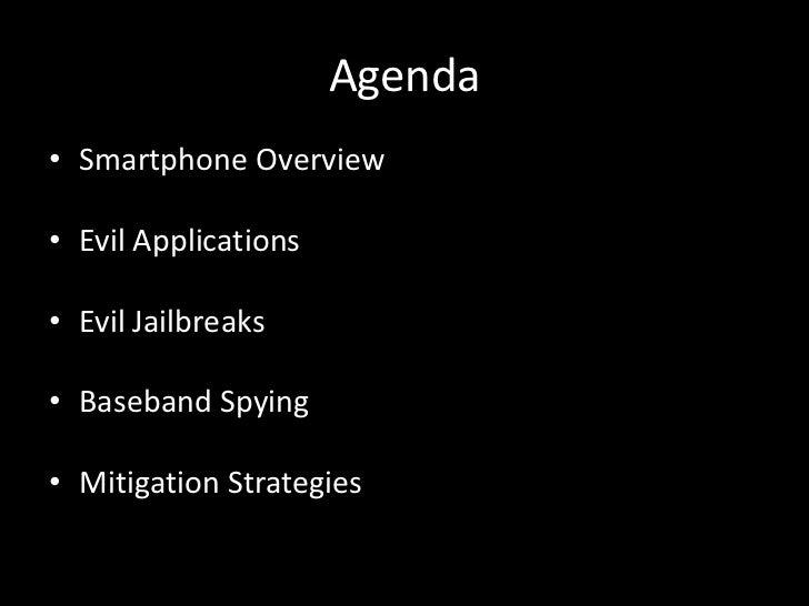 Transparent Smartphone Spying Slide 2