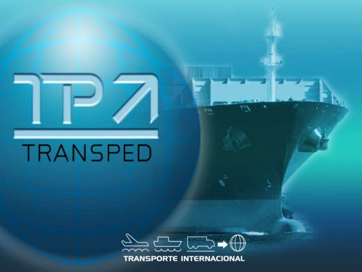 TRANSPED 's brief:           1                                     2                            3Forwarding agent since197...