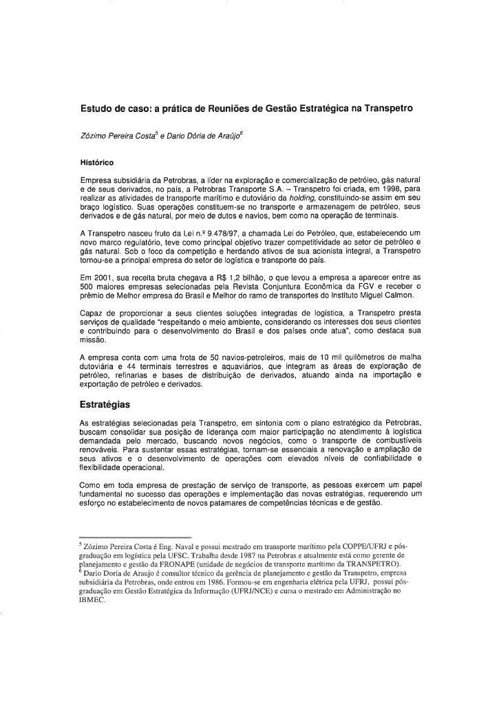 Case de Sucesso Symnetics: Transpetro
