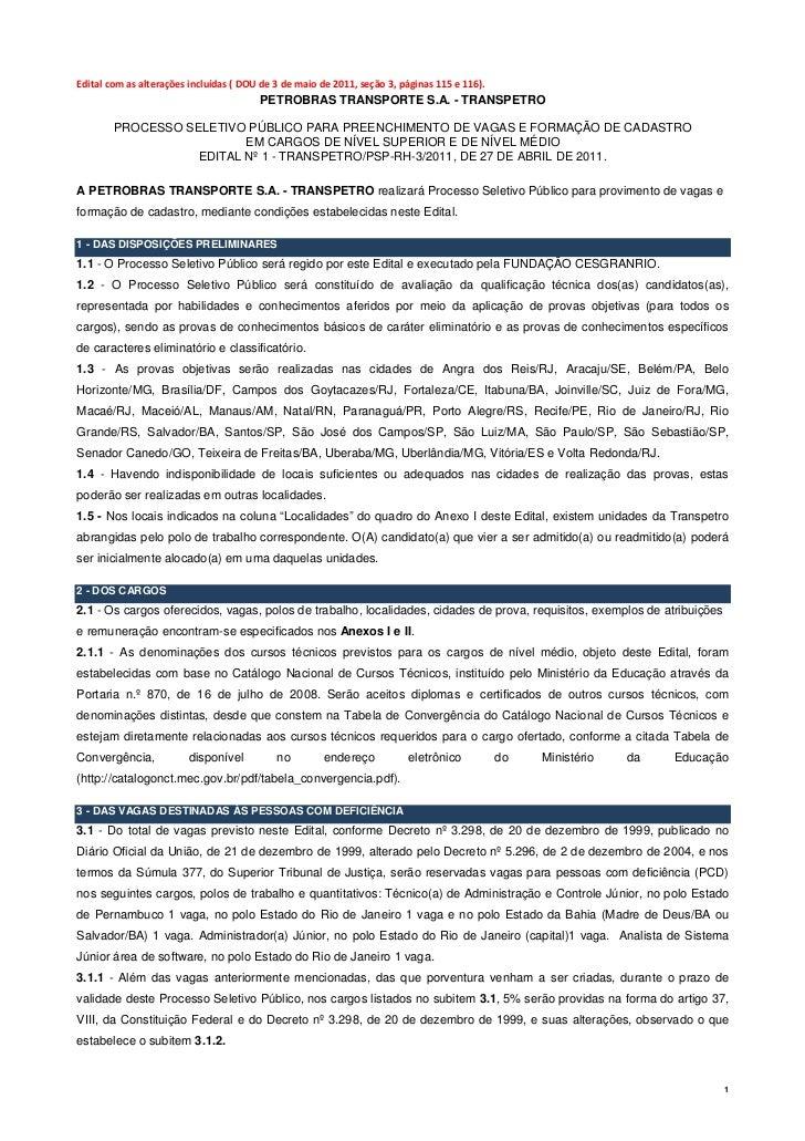 Editalcomasalteraçõesincluídas(DOUde3demaiode2011,seção3,páginas115e116).                              ...