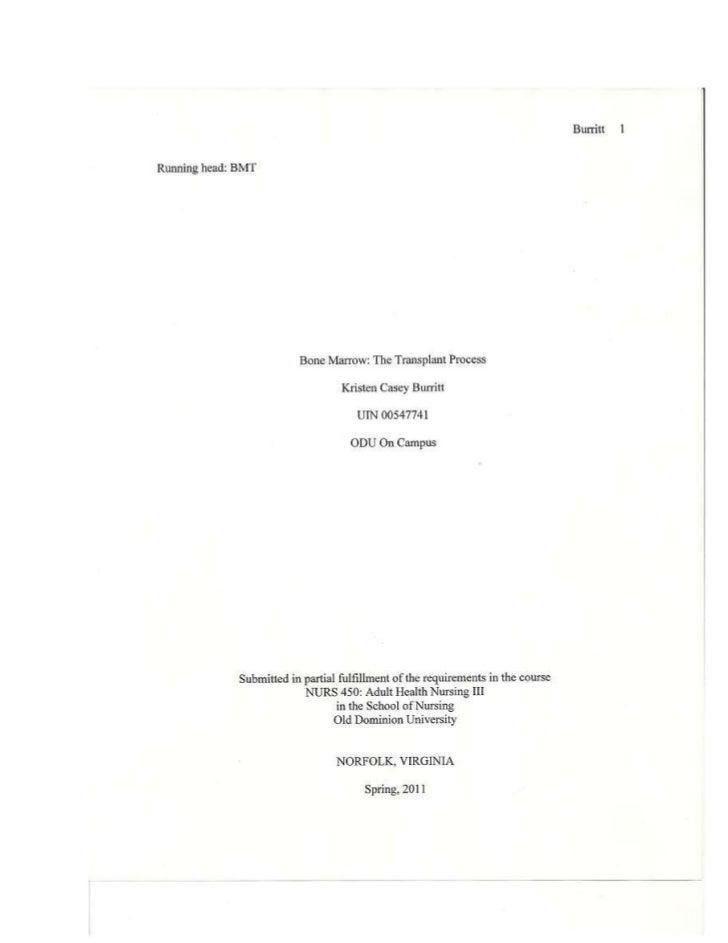 Transplant paper