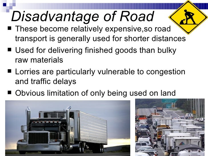 advantages of transportation essay Free essay: technology in transportation throughout history, getting things (and people) where they need to go has been a pretty basic need the romans.