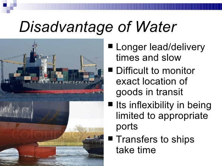 information of water transport Water transportation has been a channel for growth in america, but that growth has not come without cost the destruction caused by shipping includes fuel spills.