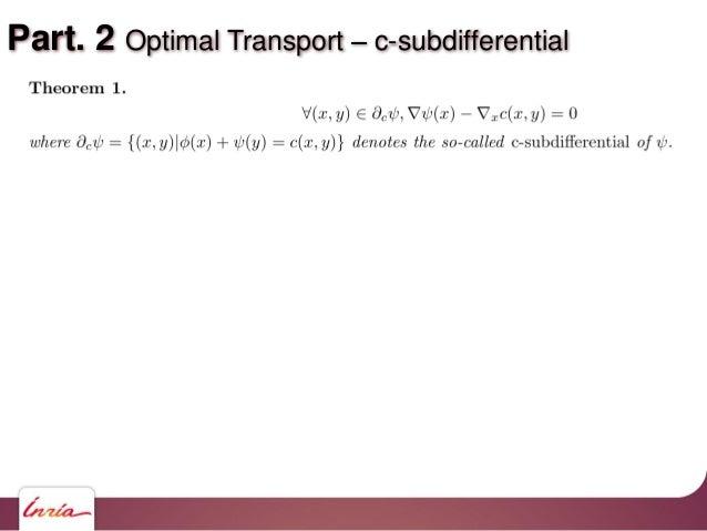 Part. 2 Optimal Transport c-subdifferential