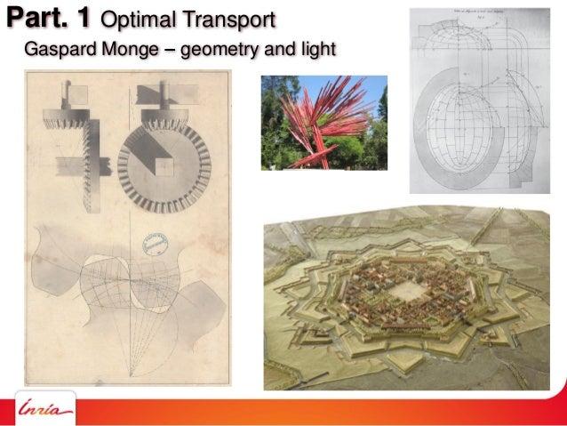Part. 1 Optimal Transport Gaspard Monge geometry and light ANR TOMMI Workshop