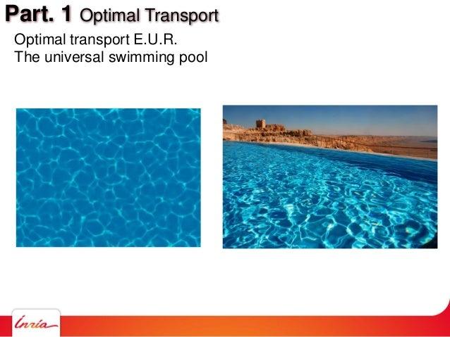 Part. 1 Optimal Transport Optimal transport E.U.R. The universal swimming pool