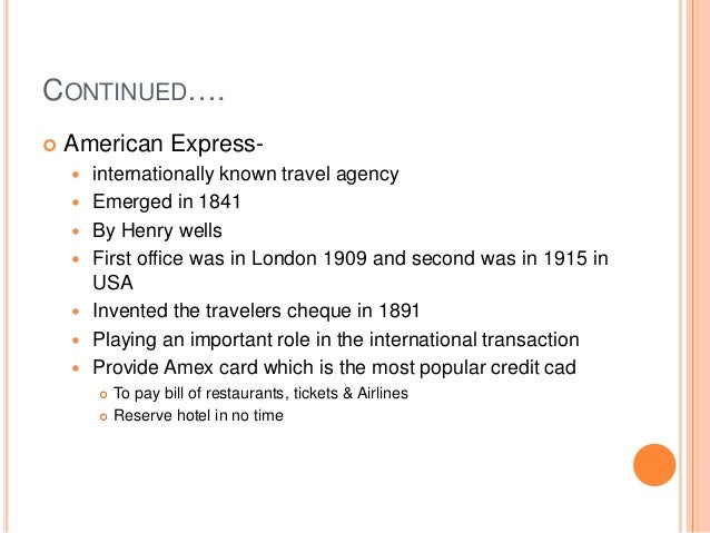 travel agency bill