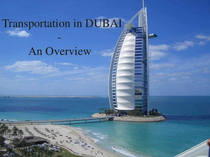 Transportation in DUBAI            -     An Overview