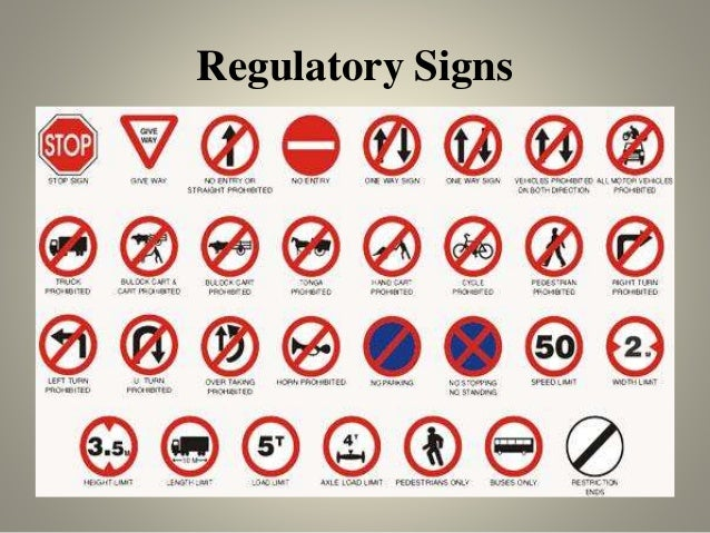 What Color Are Regulatory Signs 28 Images Traffic