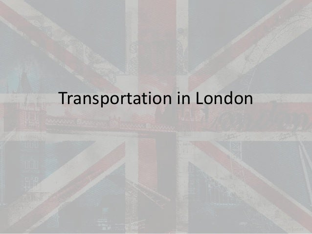 Transportation in London