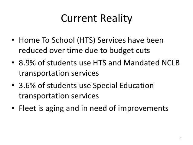 Transportation Level of Service Slide 3