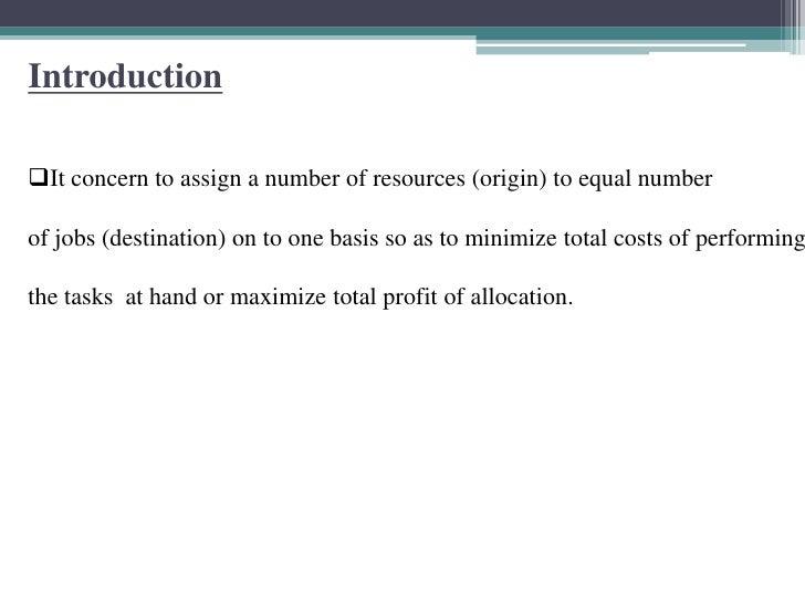 Column Minima Method ...