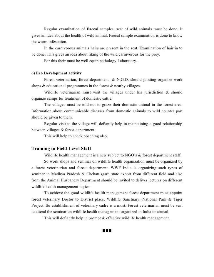 transportation of wild animals guidelines