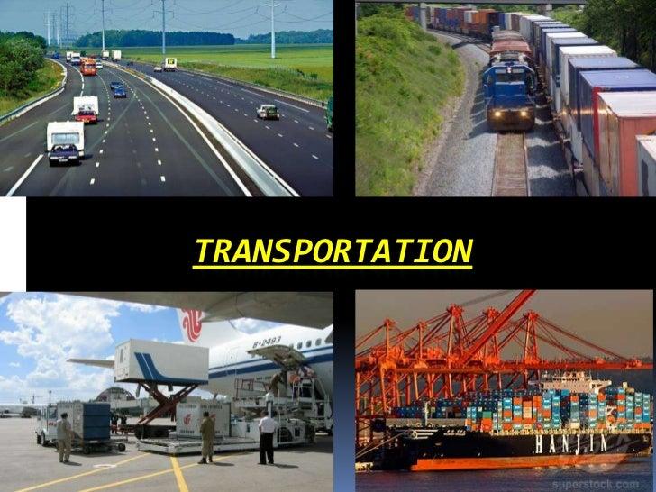 Transportation ppt