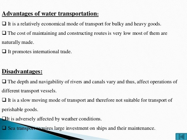 Transportation ppt of suppy chain management